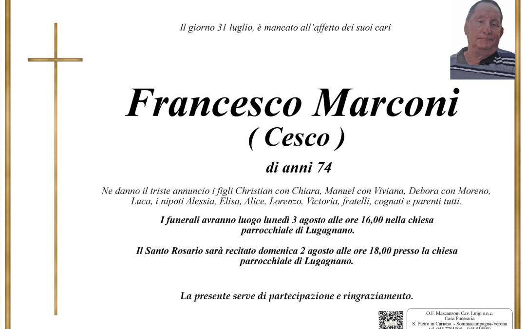 MARCONI FRANCESCO