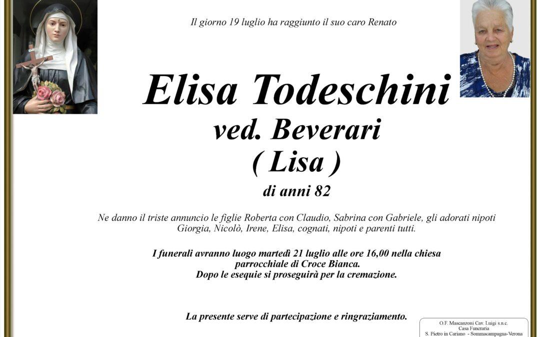 TODESCHINI ELISA