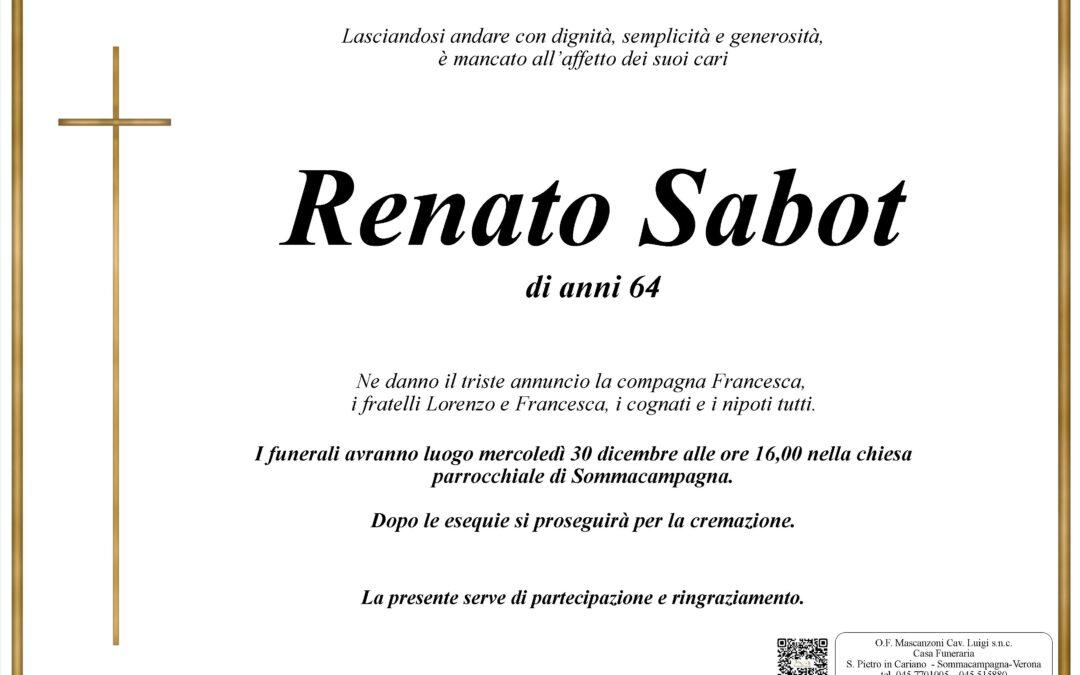SABOT RENATO