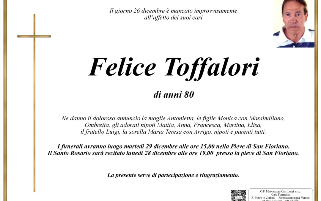 TOFFALORI FELICE