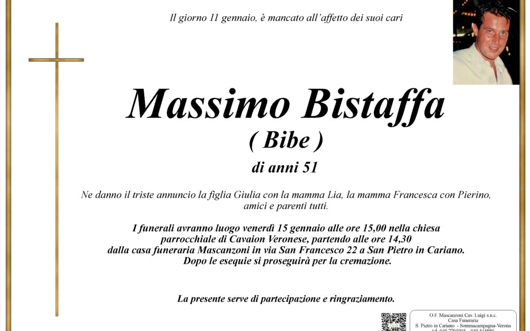 BISTAFFA MASSIMO
