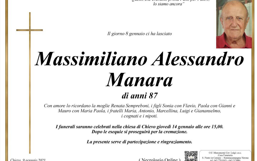 MANARA MASSIMILIANO ALESSANDRO