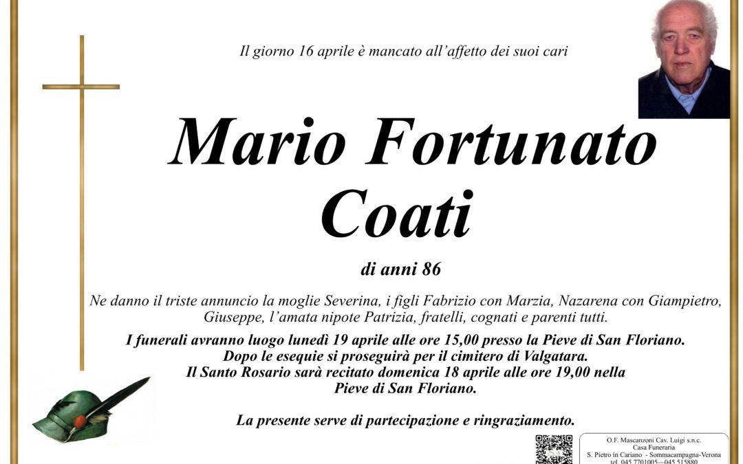 COATI MARIO FORTUNATO