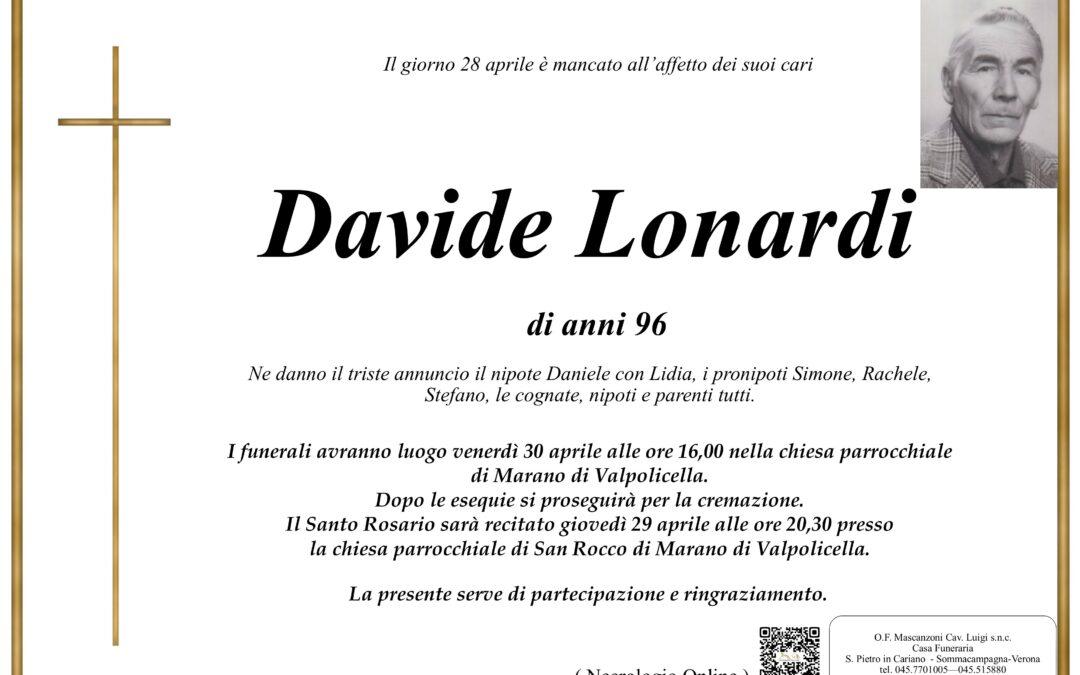 LONARDI DAVIDE