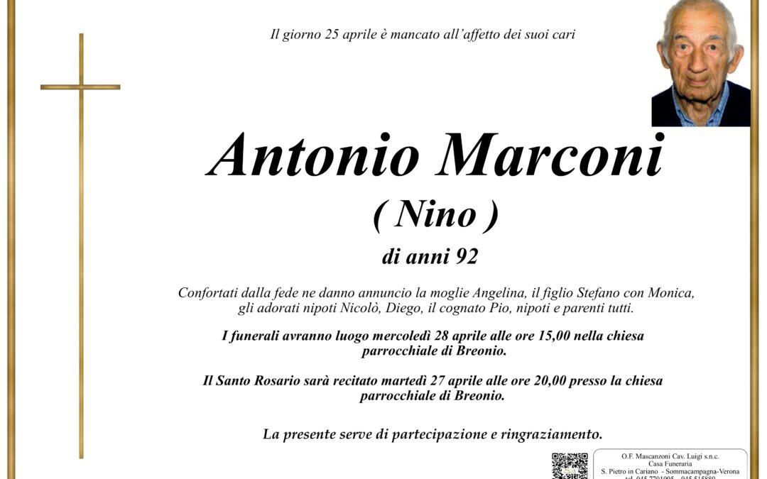 MARCONI ANTONIO