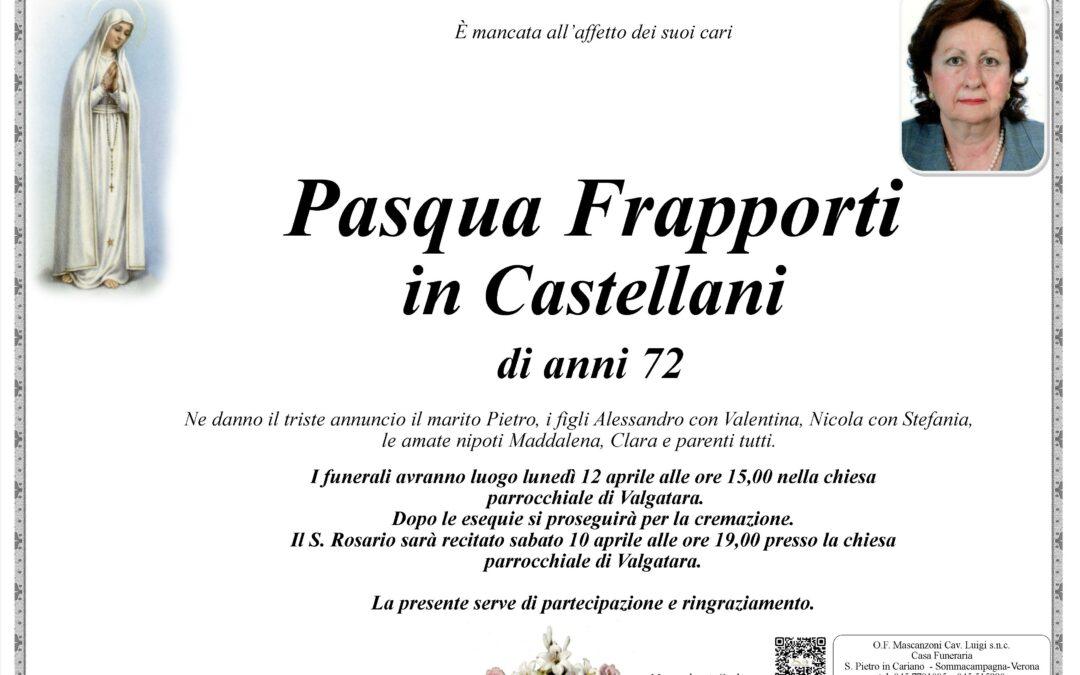 FRAPPORTI PASQUA IN CASTELLANI