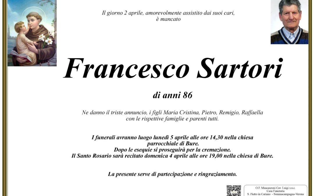 SARTORI FRANCESCO