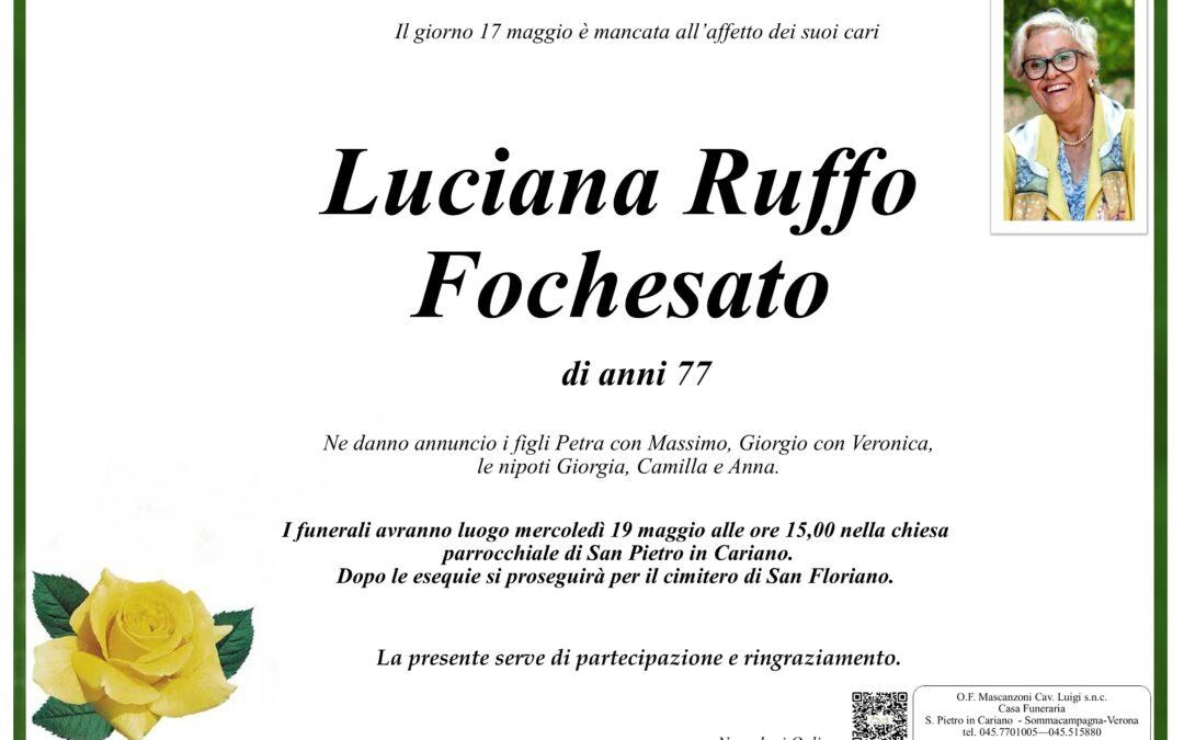 RUFFO FOCHESATO LUCIANA