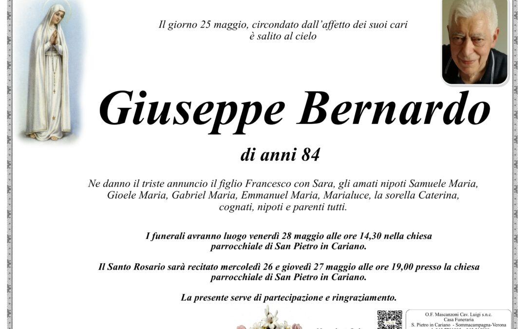 BERNARDO GIUSEPPE