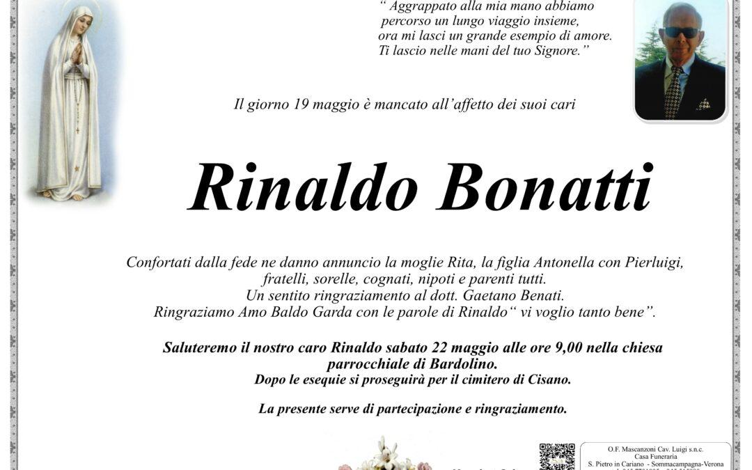 BONATTI RINALDO