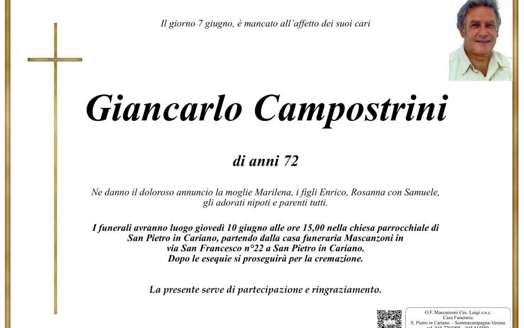 CAMPOSTRINI GIANCARLO