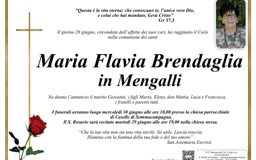 BRENDAGLIA MARIA FLAVIA IN MENGALLI