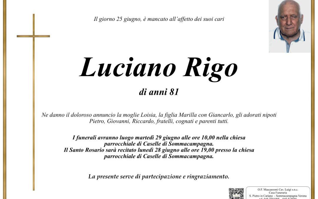 RIGO LUCIANO