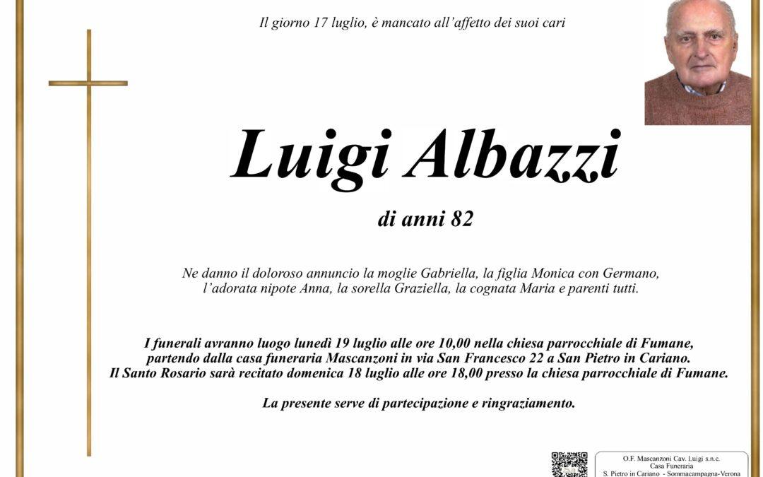 ALBAZZI LUIGI