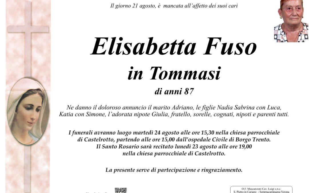 FUSO ELISABETTA IN TOMMASI