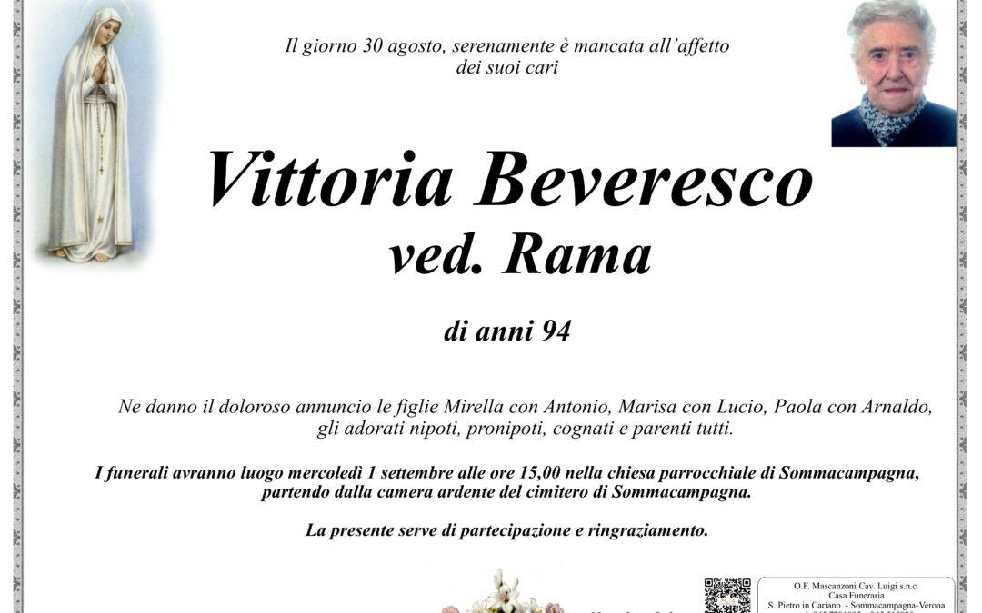 BEVERESCO VITTORIA VED RAMA