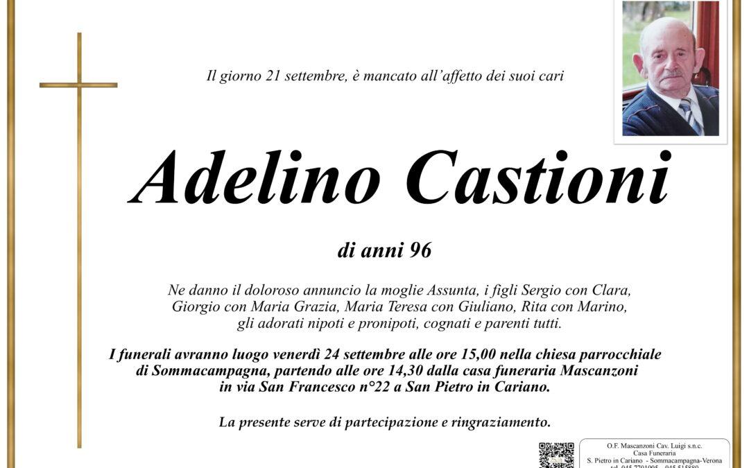 CASTIONI ADELINO