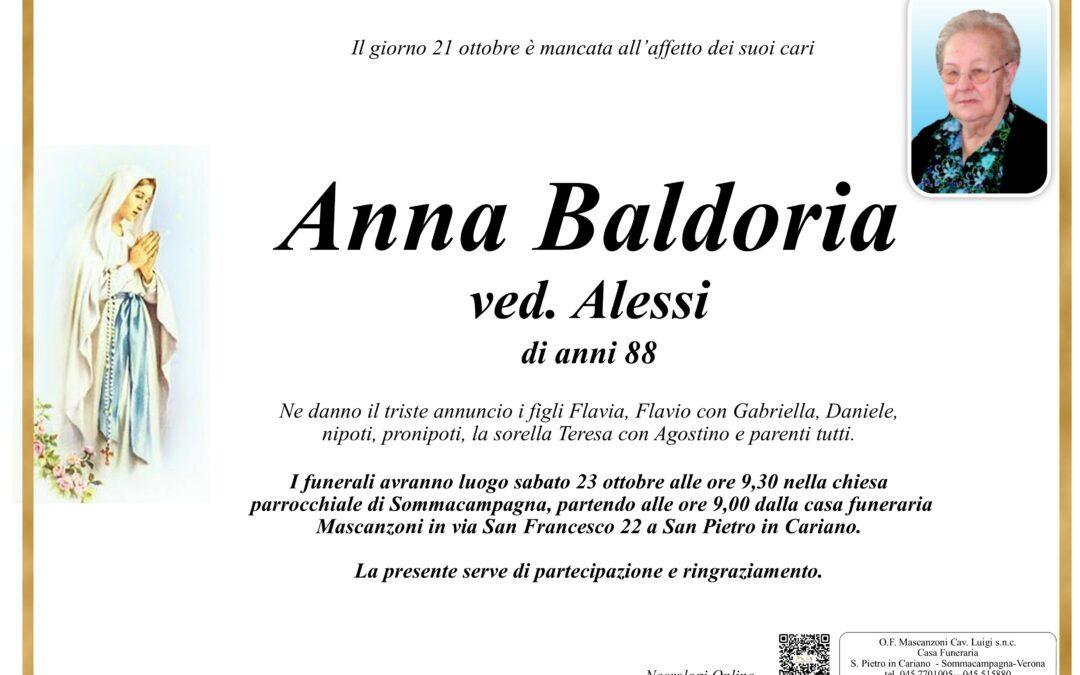 BALDORIA ANNA VED. ALESSI