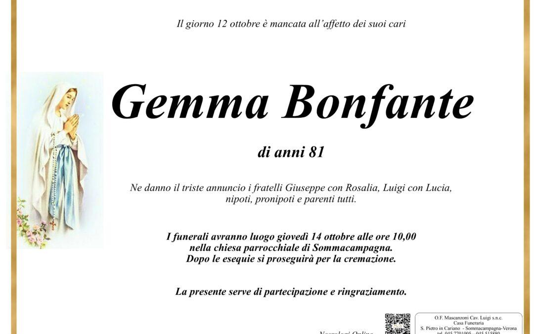 BONFANTE GEMMA