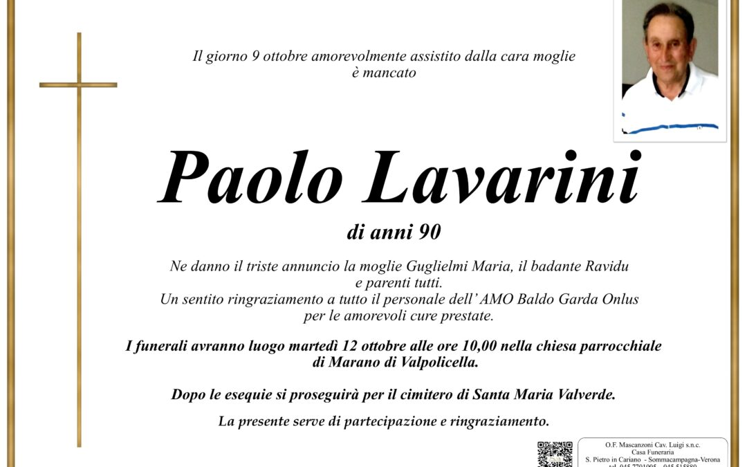 LAVARINI PAOLO